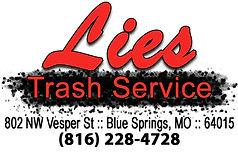 Blue Springs Soccer Academy - Sponsredby Lies Trash Service