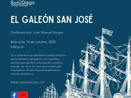 Charla sobre el Galeón San José