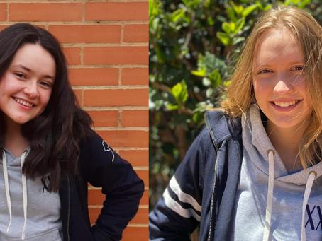 Candidatas: Laura Calvo y Sofía Valencia