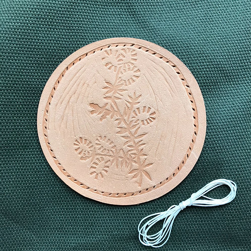 Botanical Patch - Leather