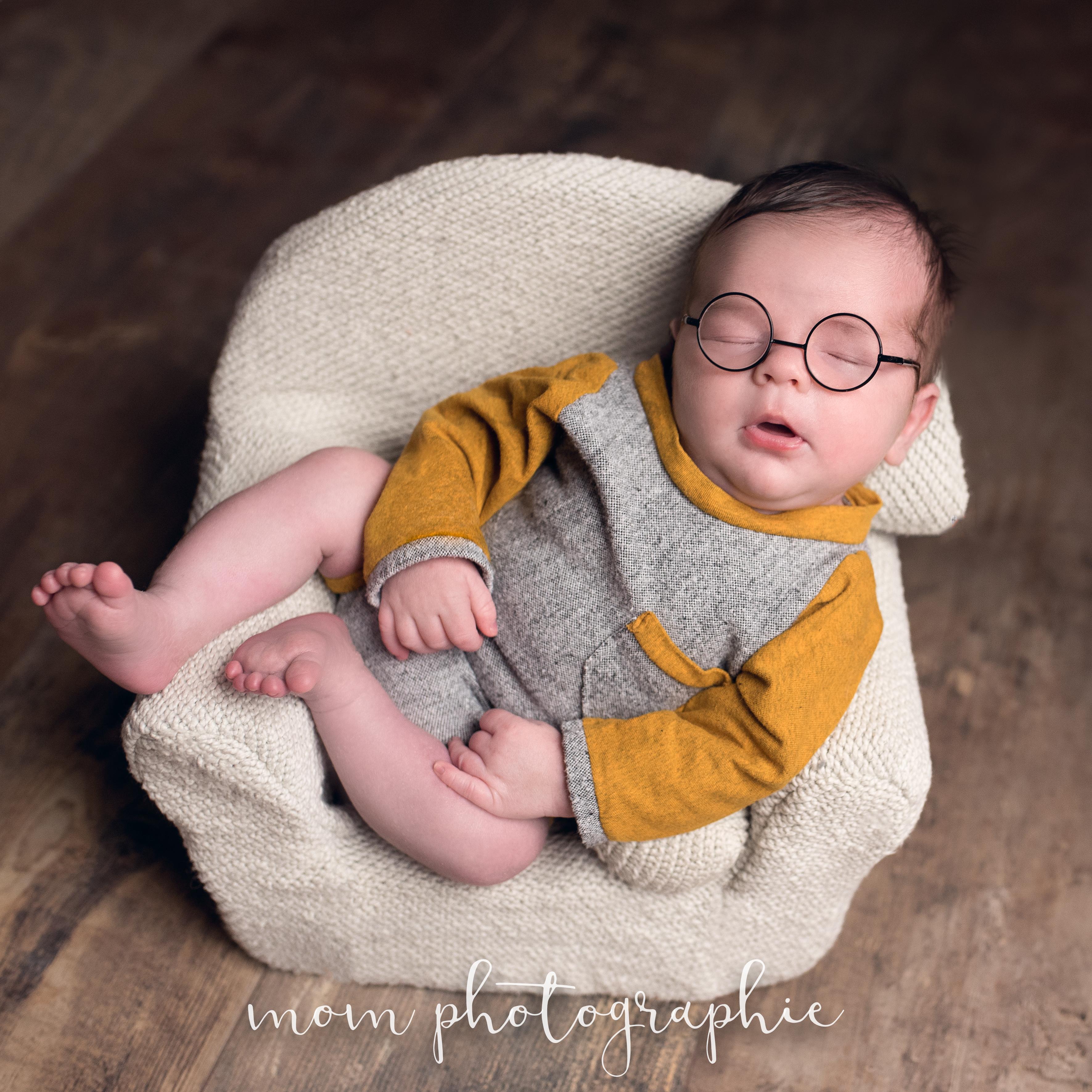 Bébé lunettes