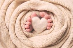 petits pieds coeur