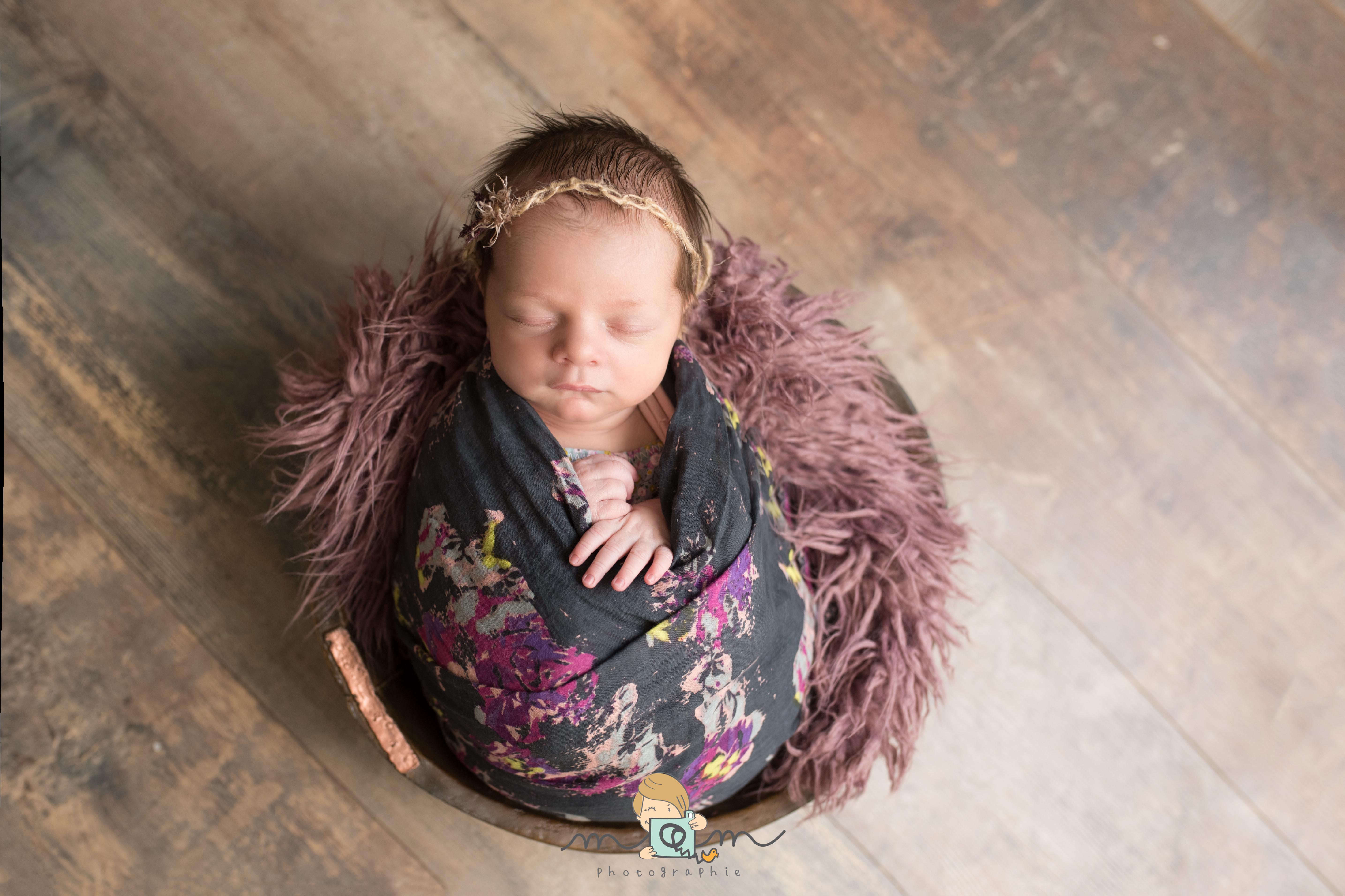 Bébé dans son nid