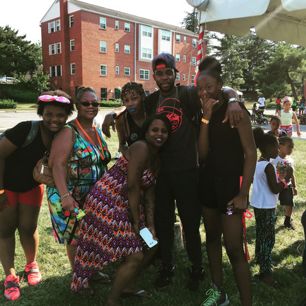 T.O.N.E Crashes The Block Party