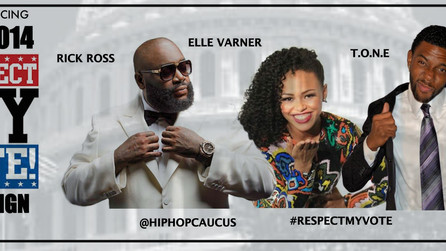 T.O.N.E Joins The Respect My Vote Campaign With Rick Ross and Elle Varner