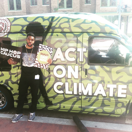 T.O.N.E Joins the Act On Climate Tour