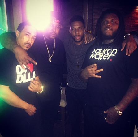 T.O.N.E Invades Cafe Asia With MMG's Own Fat Trel