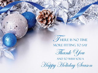 Special Greeting During This Holiday Season