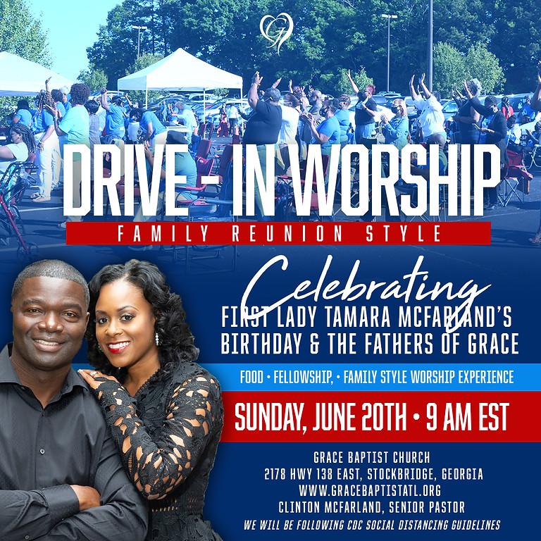 DRIVE IN WORSHIP CELEBRATION