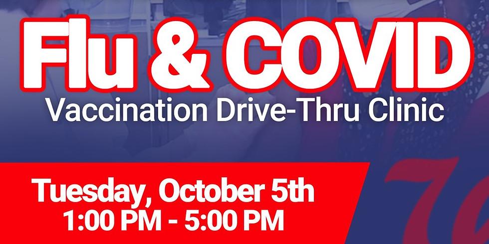 Flu/Covid Vaccination Drive Thru Clinic