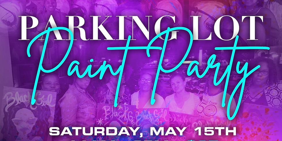 Ladies Of Grace Parking Lot Paint Party
