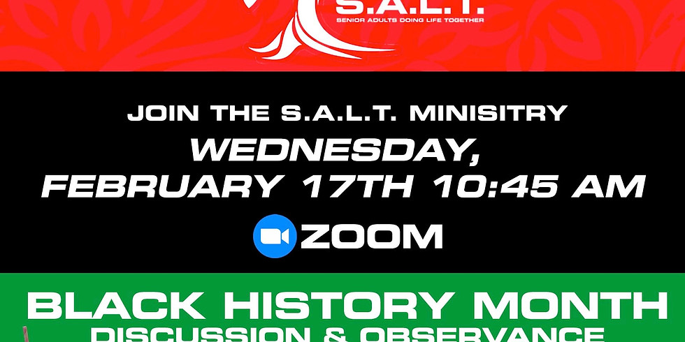 S.A.L.T. Monthly Meeting