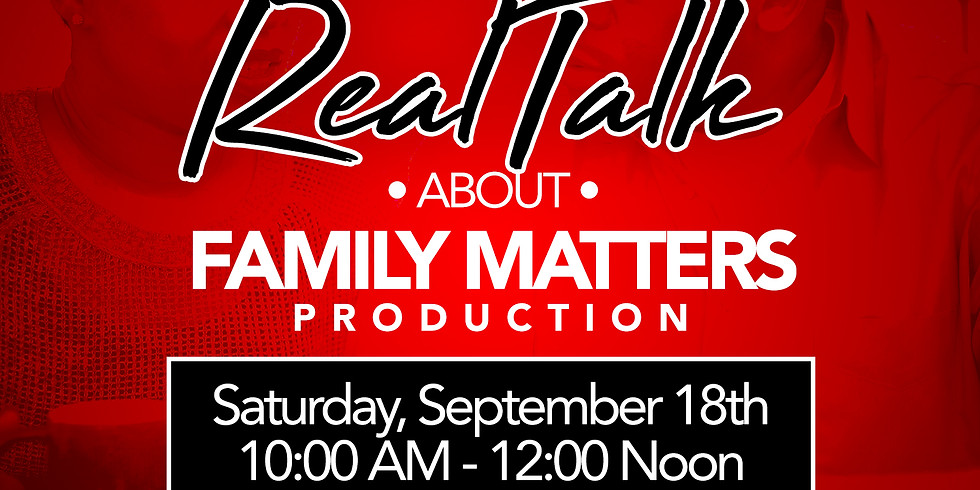 Couples Ministry - Real Talk About Family Matters