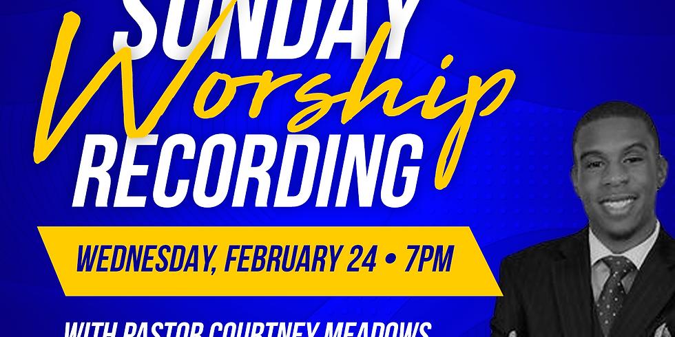 Sunday Worship Recording