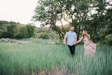 Erika & Jake, Provo Canyon Engagement