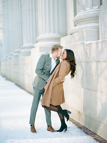 Winter engagement in the city
