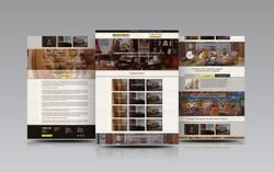 Дизайн главной страницы и редизайн внутреннего меню http://pinta-mebel.ru/ (2016)