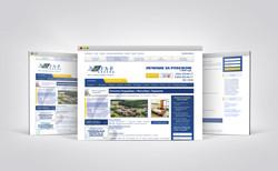 Редизайн сайта для медицинского туроператора http://www.lezard.ru/ - внутренняя страница (2015)