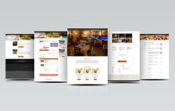 Редизайн сайта ресторана итальянской кухни Dolce Vita (2014)