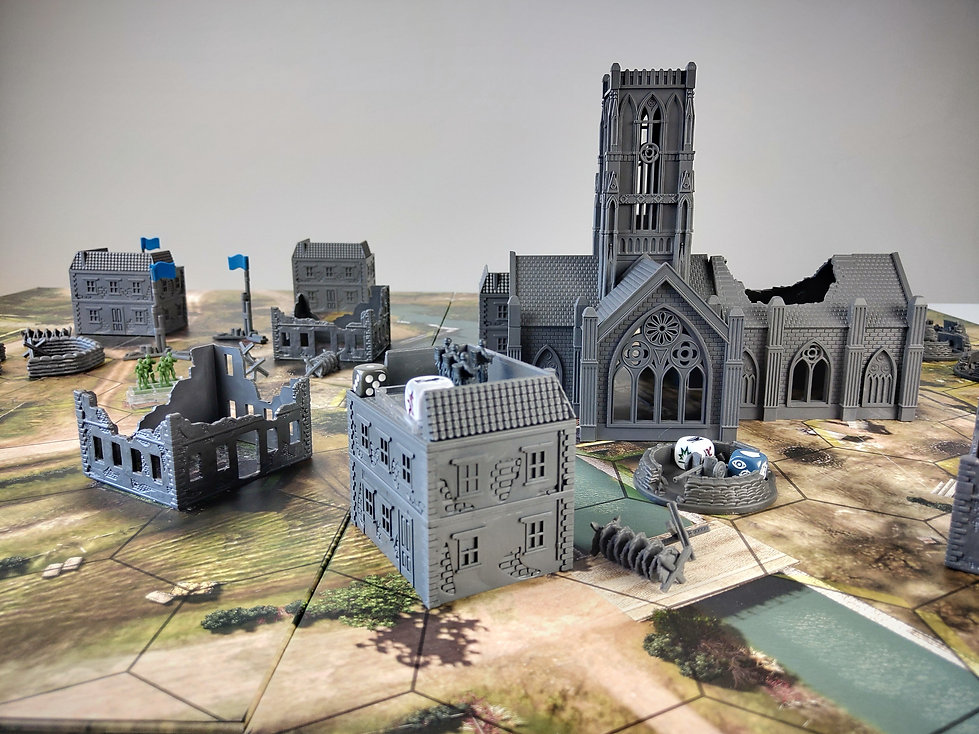 CoH Board Game Cathedral Model