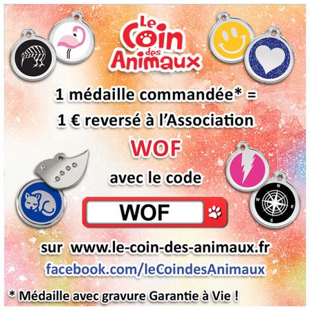 Le Coin des Animaux : des médailles au profit de notre association