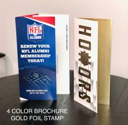 4 Panel Color Brochure printing