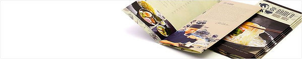 Custom restaurant menu printing - high quality at reasonable prices