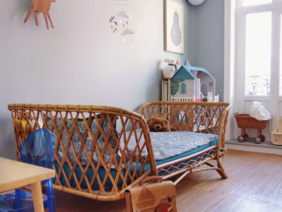 The secret to keep the Playroom neat? / O segredo para manter a sala de jogos arrumada?