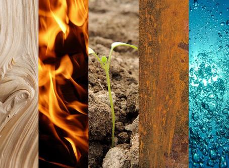Feng Shui and the five elements / Feng Shui e os cinco elementos