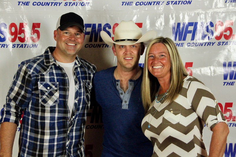 Trace & wife w/ Justin Moore