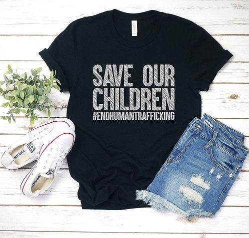 End Human Trafficking Tee