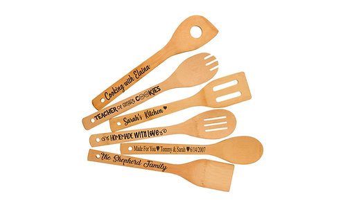 Engraved Kitchen Utensils