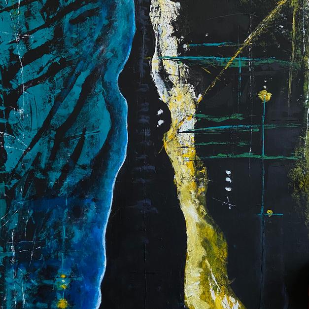 Acrylic on canvas 24X20