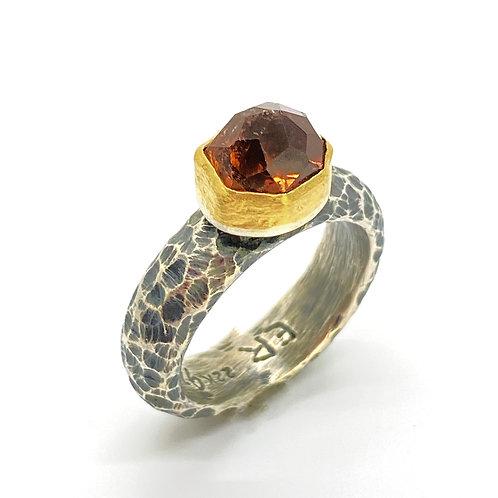 Peach Tormaline Ring