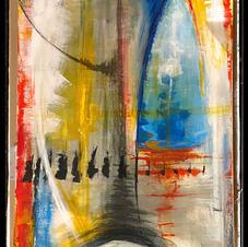 Acrylic on canvas 24X36
