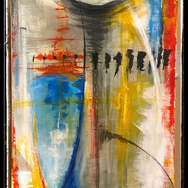Acrylic on canvas 18X36