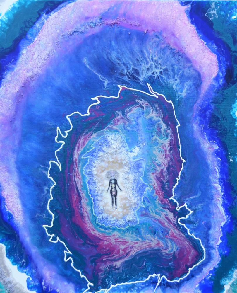 Tidasana in the Geode