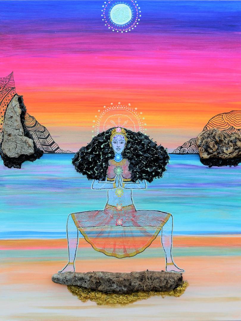 Sunset Moon Goddess