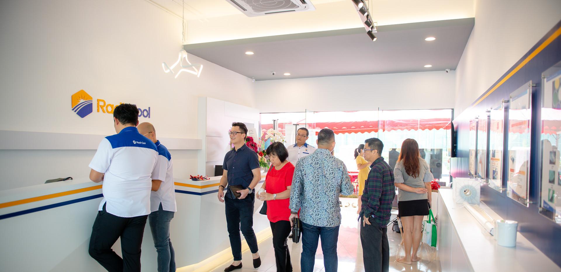 Radi Cool Malaysia Showroom