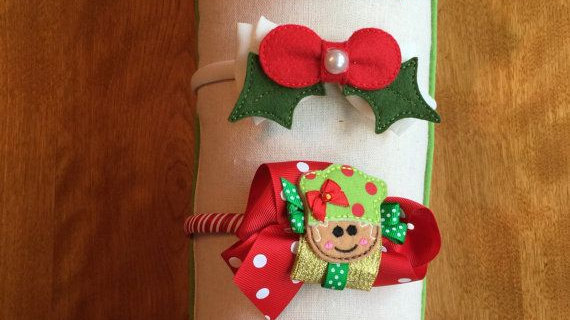 Children's Holiday Headbands