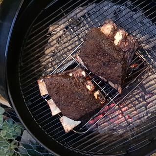 Smoked BBQ Beef Rib