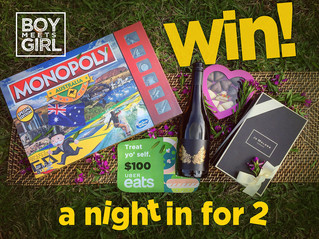 WIN 'A Night In' with BMG