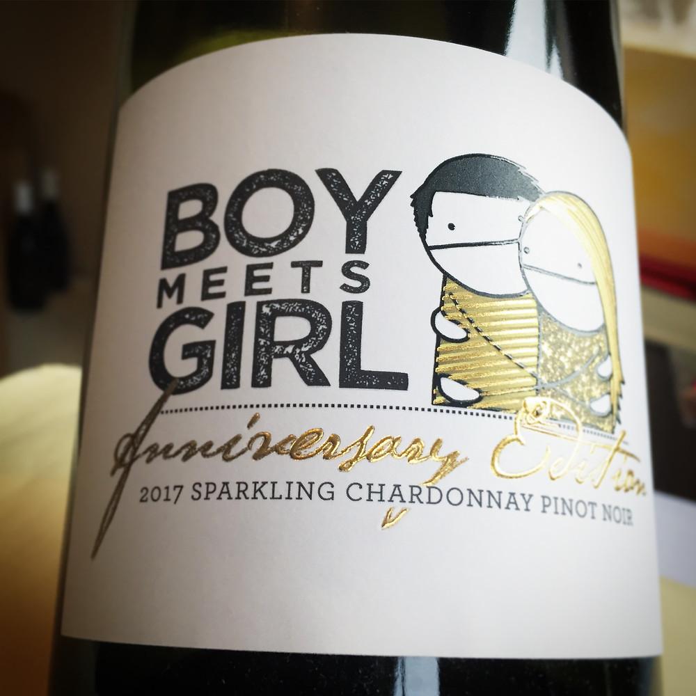Boy Meets Girl 2017 Sparkling Chardonnay Pinot Noir