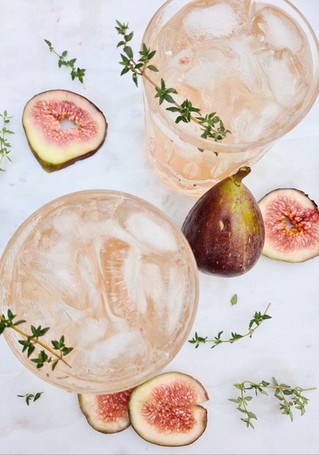 It's Fig'n Thyme for a Cocktail