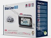 Starline A63, автосигнализации в нягани, автосигнализация старлайн, автозапуск, охранный комплекс, противоугонная система, купить автосигнализацию старлайн в нягани, установить автосигнализацию в нягани, студия тонирования в нягани, инструкции старлайн