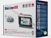 Starline A93, автосигнализации в нягани, автосигнализация старлайн, автозапуск, охранный комплекс, противоугонная система, купить автосигнализацию старлайн в нягани, установить автосигнализацию в нягани, студия тонирования в нягани, инструкции старлайн