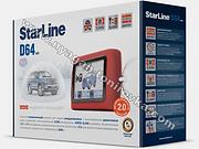 Starline D64 2Can,автосигнализации в нягани, автосигнализация старлайн, автозапуск, охранный комплекс, противоугонная система, купить автосигнализацию старлайн в нягани, установить автосигнализацию в нягани, студия тонирования в нягани, инструкции старлайн