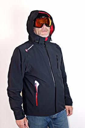Men's Heated Ski Jacket, Black