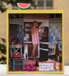 Die Küche von Brgitte Bardot