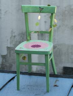 Stuhl grün
